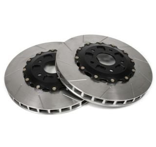 "06-13 ZO6/GS Front 14"" 2pc Slotted Brake Rotors"