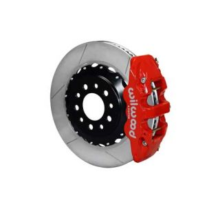 14-18 Wilwood Aerolite 4R Rear Brake Kit w/GT Slotted Rotors (Caliper Color)
