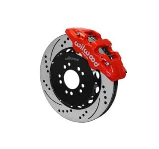 14-18 Wilwood Aerolite 6R Front Brake Kit w/SRP Drilled Rotors (Caliper Color)