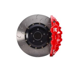 14-18 Racing Radi-Cal Front 6-Piston Brake Package w/Rotors (Brake Color_Rotor Surface)