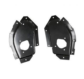 56-62 Door Latch Mechanism Metal Reinforcement Plates