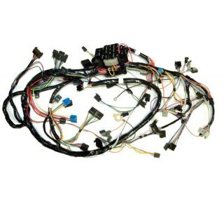 81 Manual Dash Main Wiring Harness