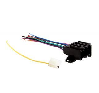 77L-89 Radio Connector & Wire Harness