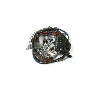 1964 corvette w/back-up lights dash main wiring harness w/fuse box