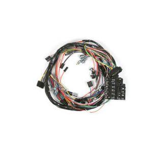 1965-1966 corvette w/backup lights dash main wiring harness w/fuse box