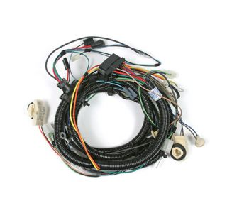 1980 Corvette w/o Stereo Tape Headlight Wiring Harness
