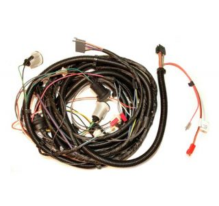 81 w/Rear Defog Rear Light Wiring Harness