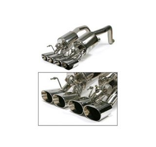 """2006-2013 Corvette Z06/ZR1 BBE Fusion Exhaust System - 4.5"""" Oval Tips"""