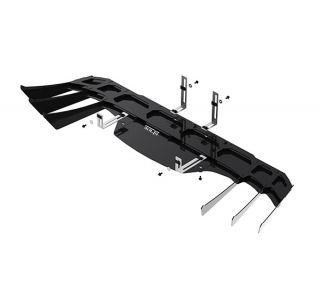 14-19 BORLA Exhaust Rear Fascia Diffuser (Black)