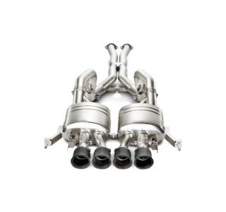 15-18 Z06 Akrapovic Evolution Titanium Cat-Back Exhaust System w/Carbon Tips