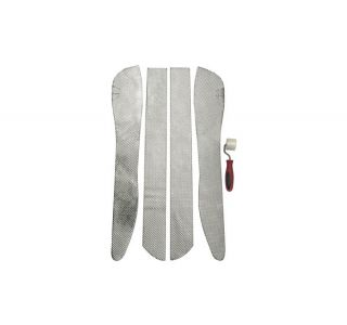 97-04 DEI Exhaust Tunnel Side Shields (4-Piece)