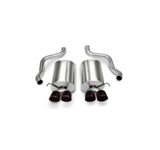 05-08 LS2/LS3 Corsa Sport Exhaust System - Quad 3.5in Black Tips