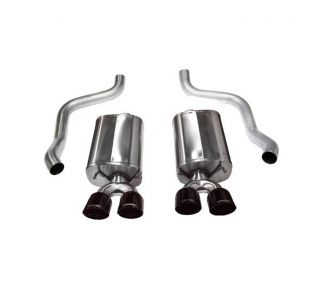 09-13 LS3 Corsa Sport Exhaust System - Quad 3.5in Black Tips