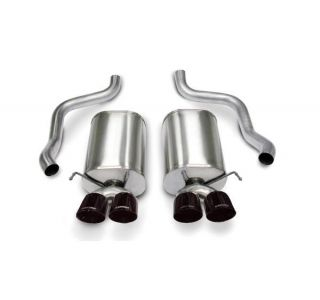 05-08 LS2/LS3 Corsa Sport Exhaust System - Quad 4.5in Black Tips