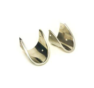 1968-1969 Corvette Rear Exhaust Bezels