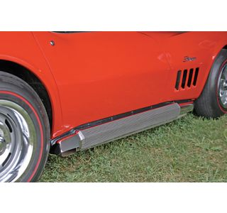 1968-1974 Corvette 327/350 Side Exhaust Package (Fiberglass Covers)