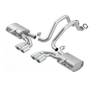 1997-2004 Corvette BORLA S-Type Exhaust System w/Oval Tips (New Design)