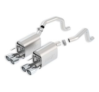 2005-2008 Corvette LS2/LS3 BORLA S-Type II Exhaust System w/Round Tips (New Design)
