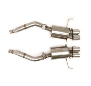 "14-18 BBE Fusion Bi-Modal Exhaust System - 4"" Round Tips"