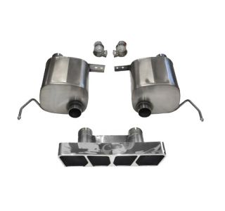 14-18 Corsa Sport Valve Back Exhaust System w/Polygon Tip (Default)