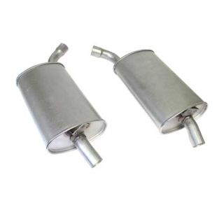 "69-72 2"" Reproduction Oval Mufflers (Default)"