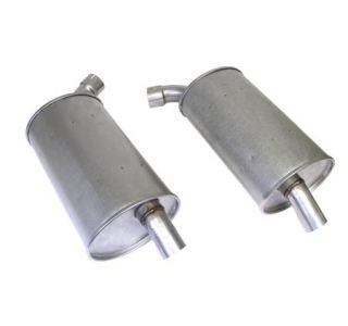 "73 2"" Reproduction Round Mufflers (Default)"