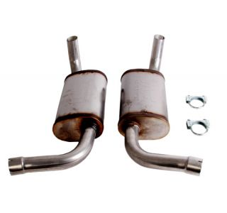 "75-78 2 1/4"" Magnaflow Aluminized Mufflers"