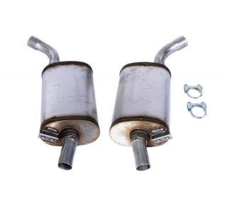 "63-67 2"" Magnaflow Aluminized Mufflers"