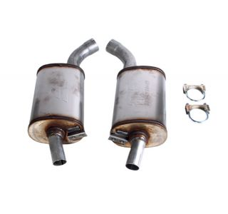 "63-67 2 1/2"" Magnaflow Aluminized Mufflers"