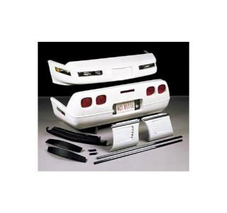 "1984-1990 Corvette ""91 up Styled"" Front & Rear Body Update Kit"
