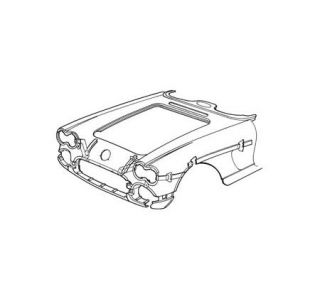 1958-1961 Corvette Pre-Assembled Front End