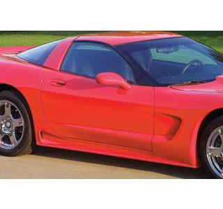 1997-2004 Corvette ACI Rear Brake Duct Side Skirts (Use w/F-546)