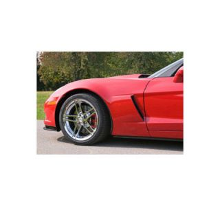 2005-2013 Corvette Z06 Style ACI Front Fiberglass Fender (Hand Laid)