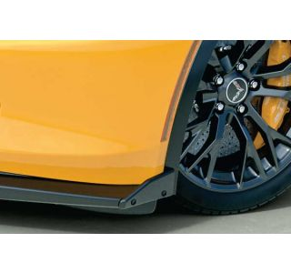 14-18 ACS Z06 Front Splitter Stage 2 Side Deflectors (Style)