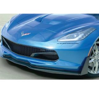 14-18 ACS Z06 Front Splitter Stage 3 Side Deflectors (Base Model Fitment) (Style)