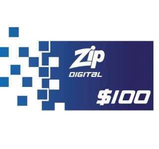 $100 Zip Gift Card -Digital Version