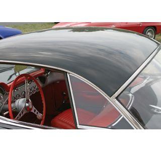1956-1960 Corvette Hardtop Side Glass - Pair (Dated)