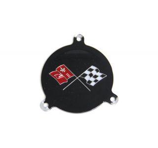 65-66 Hubcap Spinner Emblem Insert