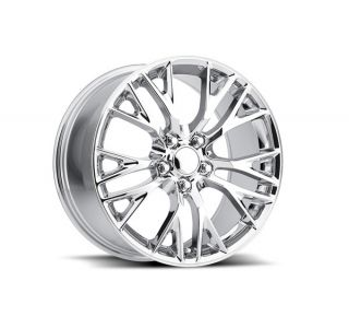 Corvette C5 and C6 front skid plate wheel set 1997-2014 models.