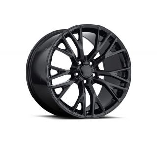 "05-13 Z06/GS ""C7 Z06"" Black Chrome Wheel Set"