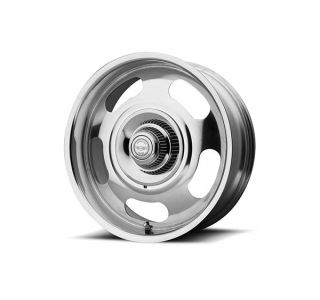 68-82 17x8 American Racing Aluminum Rally Wheel (Fully Polished)