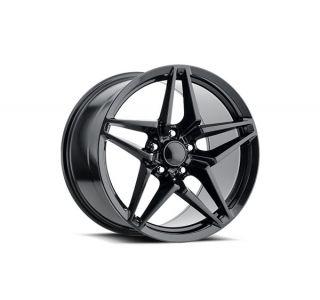05-19 C7 ZR1 Carbon Black Wheel Set (18x8.5/19x10)