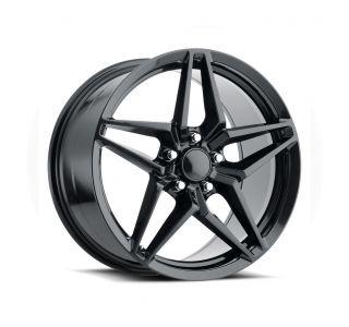 06-13 Z06/GS C7 ZR1 Carbon Black Wheel Set (18x9.5/19x12)