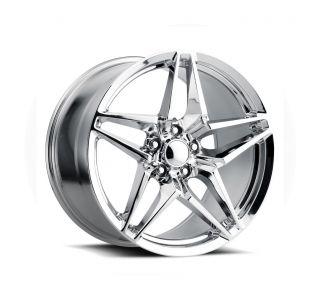 06-13 Z06/GS C7 ZR1 Chrome Wheel Set (18x9.5/19x12)