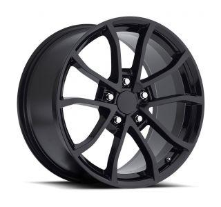 09-13 ZR1/Z06 60th CUP Gloss Black Wheel Set (19x10/20x12)