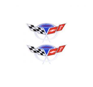 04 Commemorative Wheel Center Cap Domed Emblems (1.75in x .85in)
