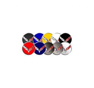 14-19 Wheel Center Cap Decal (Optional Colors)