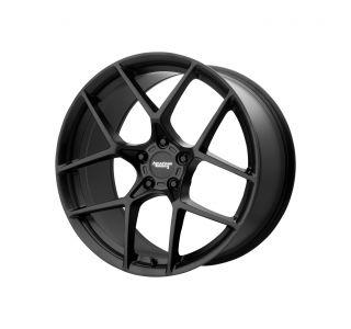 19x10 American Racing AR924 Satin Black Wheel (+75mm)