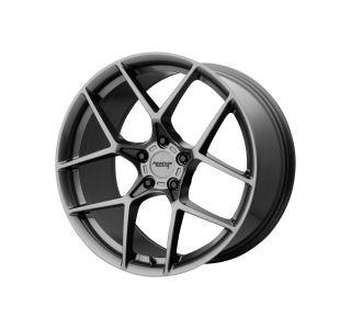 18x8.5 American Racing AR924 Graphite Wheel (+50mm)