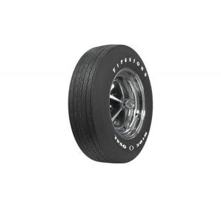 "68-72 F70-15 Firestone ""Wide Oval"" Tire - Raised White Letters"